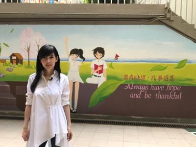 2017-10-03 周慧敏回到母校直播