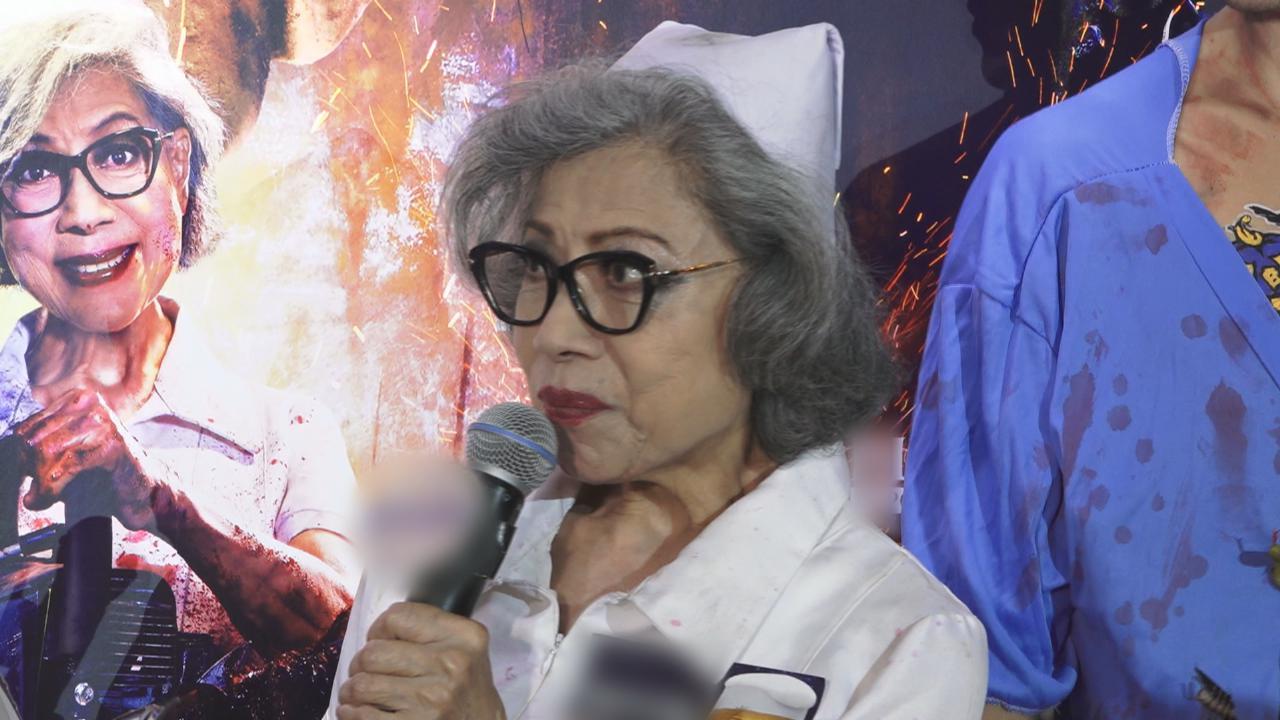 羅蘭習慣夜生活 化身俏護士出席活動