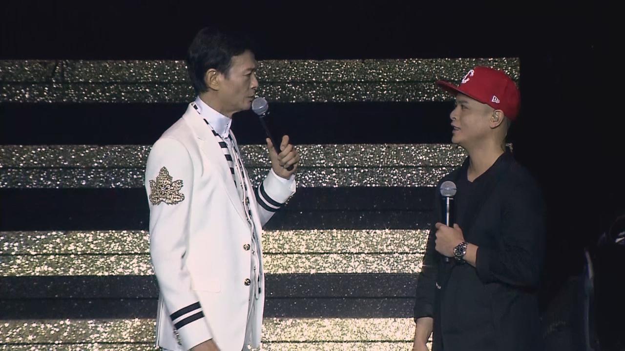 邀側田任演唱會嘉賓 鄭少秋大讚對方有音樂才華