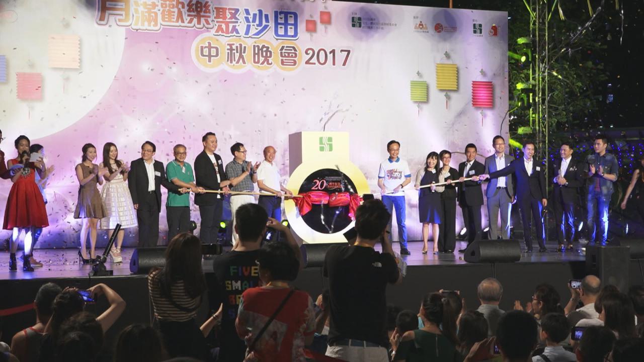 (國語)眾歌手與沙田街坊慶中秋 賣力獻唱大展歌喉