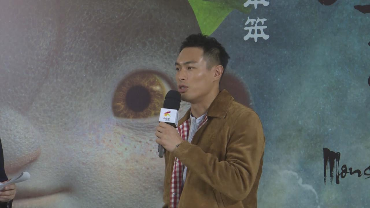 楊祐寧現身上海宣傳新戲 與虛擬拍檔演戲有難度