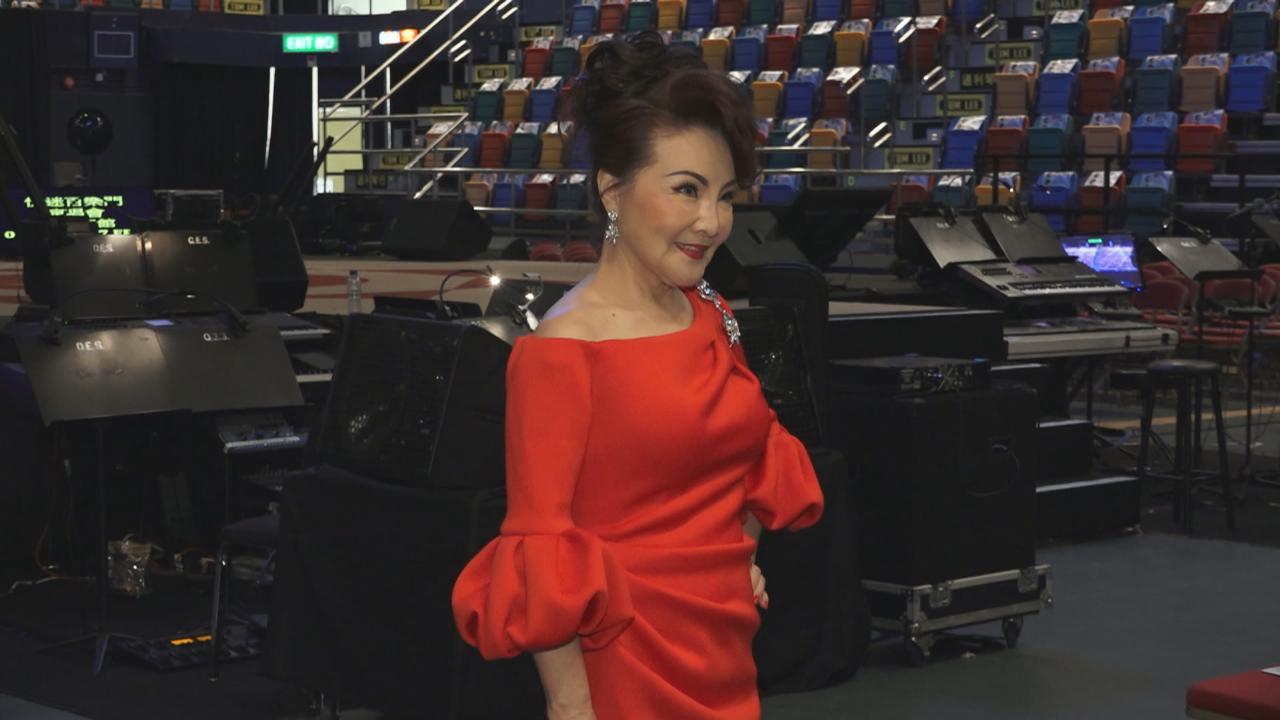 (國語)楊燕謝雷香港舉行演唱會 與歌迷回顧經典金曲