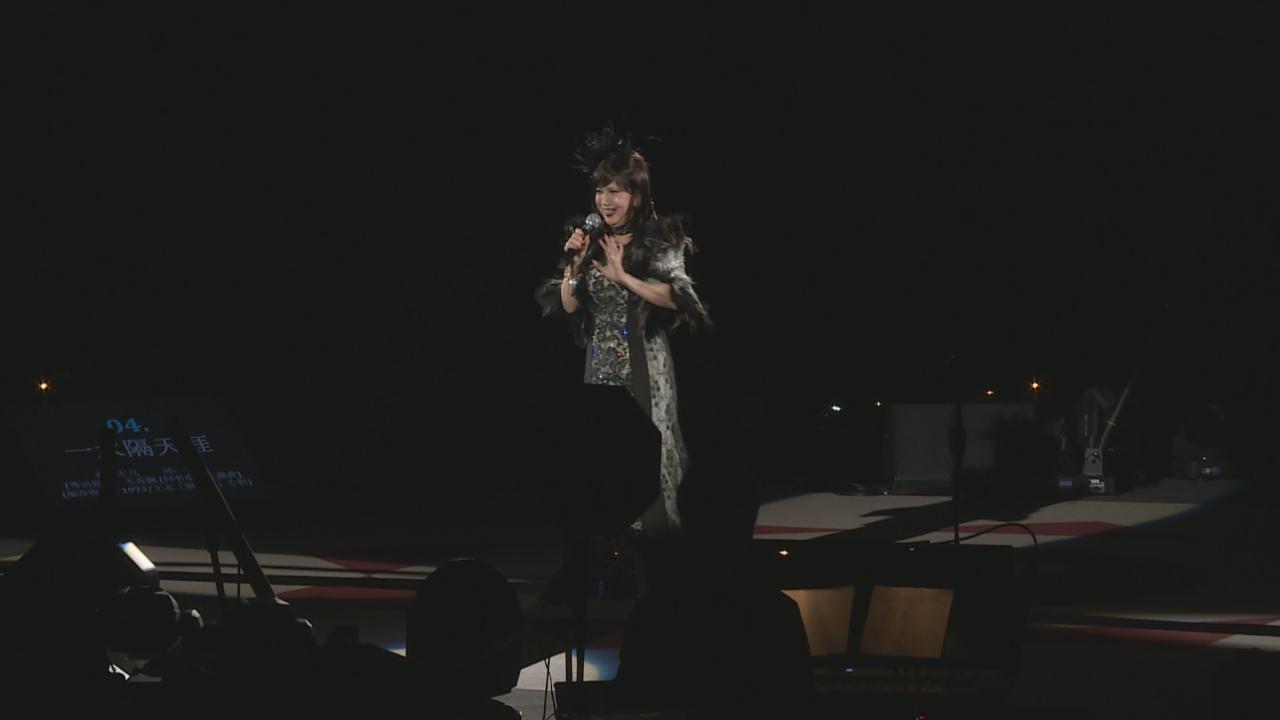 麗莎舉辦個人演唱會 應付四面台有壓力