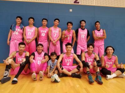 傳媒盃籃球賽 TVB vs 新傳媒
