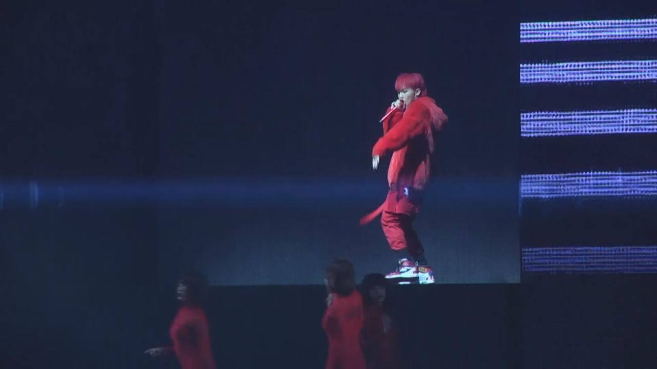 G-Dragon台灣舉行巡唱最終站 為歌迷落力跳唱