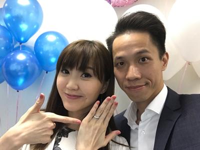 吳若希註冊結婚