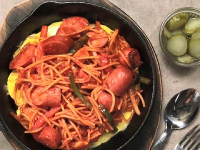 [食左飯未呀 Cookat] 日式拿坡里意粉