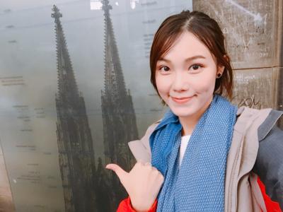 陳靖雲Clare-科隆大教堂塔頂