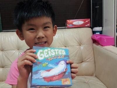 小小豬直播篇 - 八號風球玩BoardGame