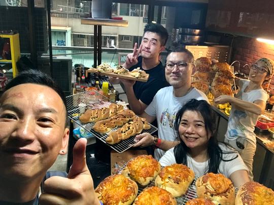 台南麵包之旅。。