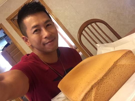 2017-10-22 蔡國威的影片(蜂蜜蛋糕最後完成步驟??