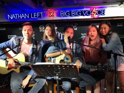 BigBigVoiceX彌敦左岸音樂會Oct 23