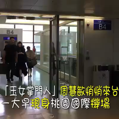 2017-10-26台北機場被野生捕獲?