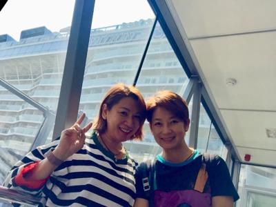 2017-10-29 王綺琴郵船上直播