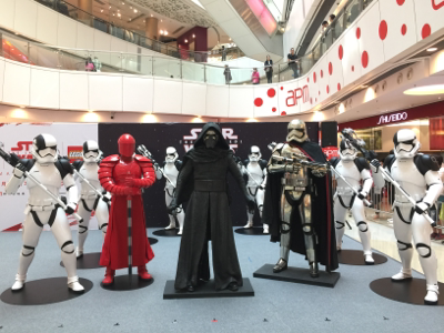 apm星球大戰電影主題展覽及樂高星球大戰聖誕裝飾