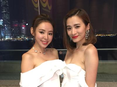 譚凱琪、沈卓盈今晚咩造型?