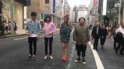 Do姐日本銀座街舞顯身手