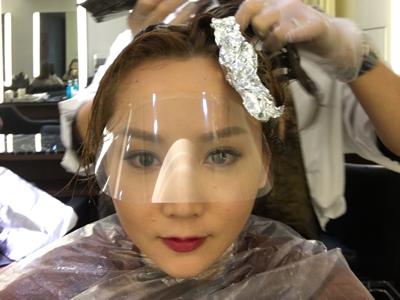 2017-12-01 李綺雯的直播,為新劇染頭髮