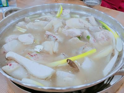 姚安娜首爾食美味雞煲直播