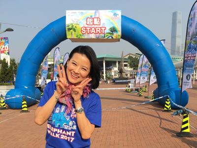 2017-12-09 黎燕珊的直播慈善步行