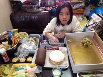 做聖誕蛋糕2017-12-10 Venda可柔?村小廚神的直播