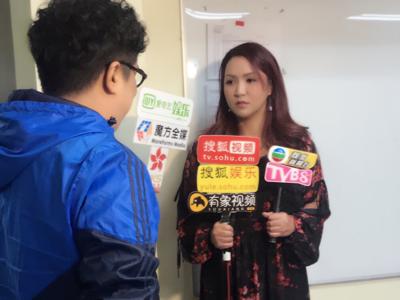 黎瑞恩在TVB 凖備錄影流行經典50年
