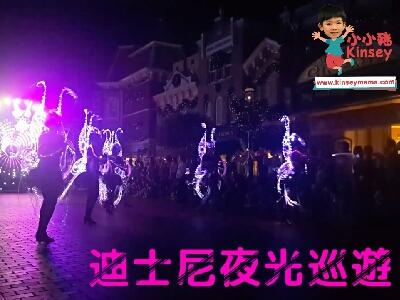 小小豬玩樂篇 - 迪士尼夜光巡遊