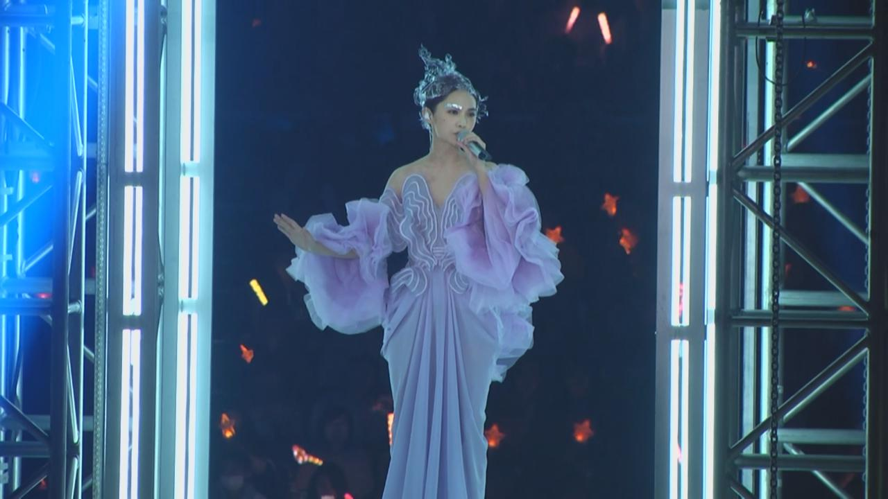 (國語)台北小巨蛋個唱開鑼 楊丞琳以仙女造型登場