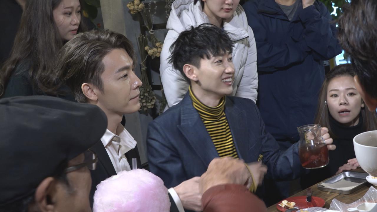 馬家過聖誕邀韓星做嘉賓 與DE食聖誕大餐