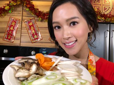 《新春辦年貨》開運菜直播-傅嘉莉