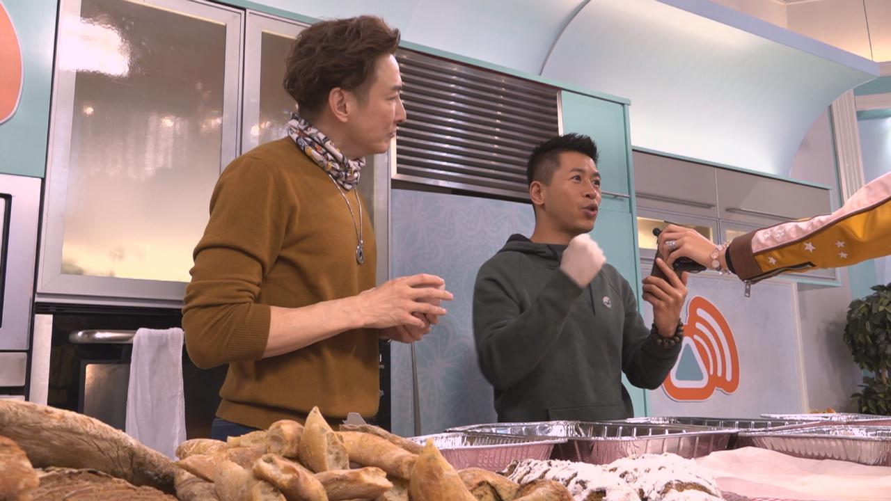 (國語)出席bigbigchef聖誕繽紛派對 胡渭康大讚蔡國威廚藝了得