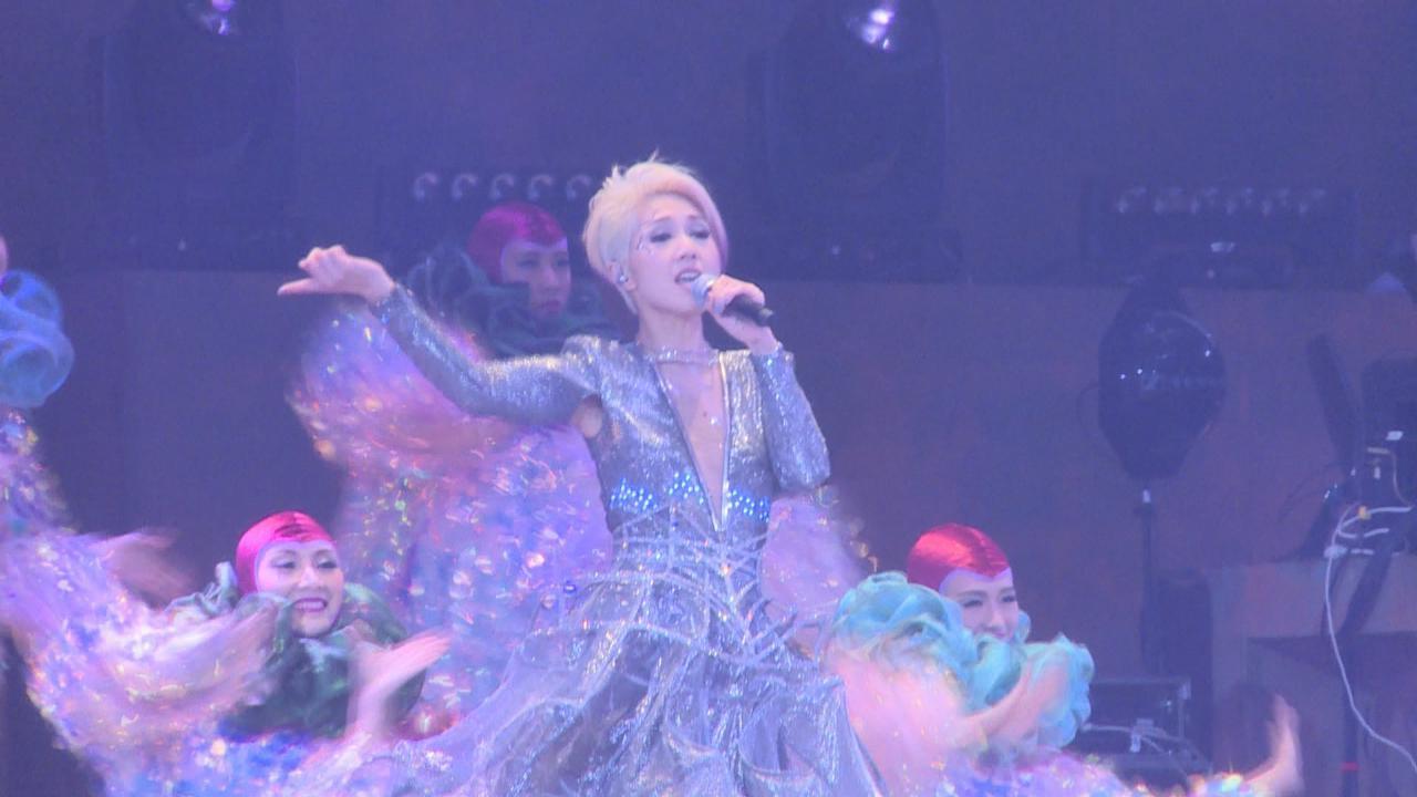 (國語)楊千嬅11場紅館秀開唱 以銀白短髮造型登場