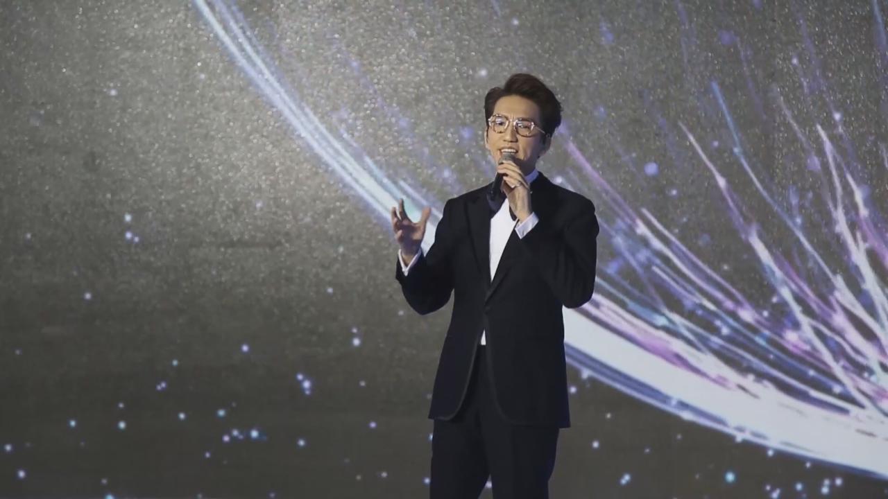 (國語)林志炫公益活動現場獻唱 分享與小朋友互動方式