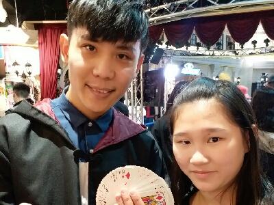 2017-12-25 小廚神李芯瑀Cindy的直播魔術表演
