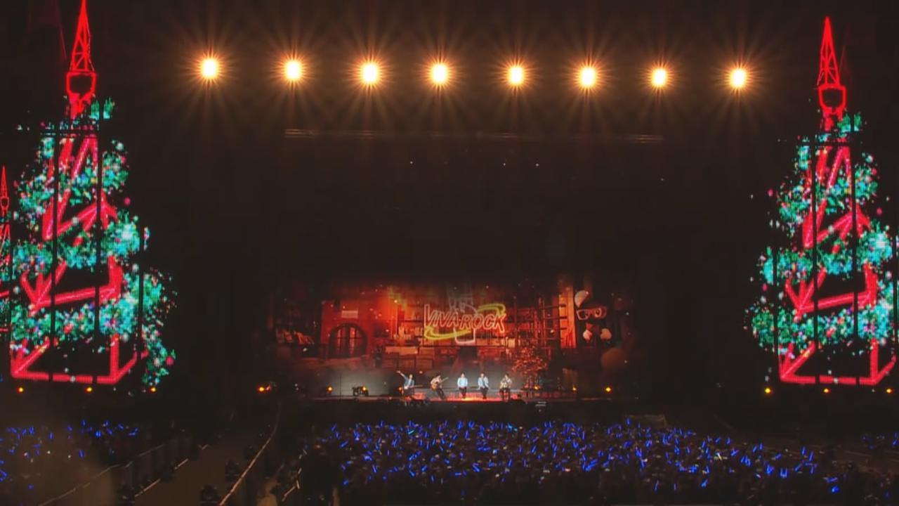 (國語)演唱會第二場適逢平安夜 五月天送歌迷巨型聖誕樹