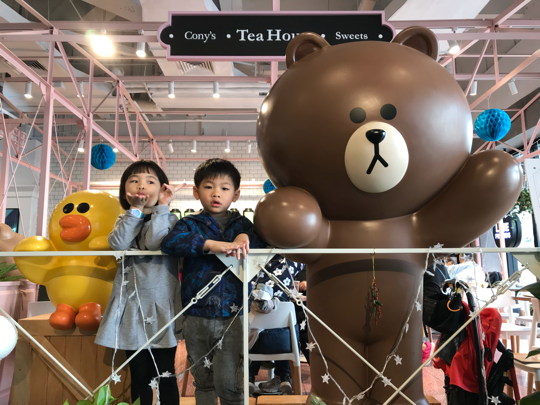 朝聖Line cafe@深圳海岸城