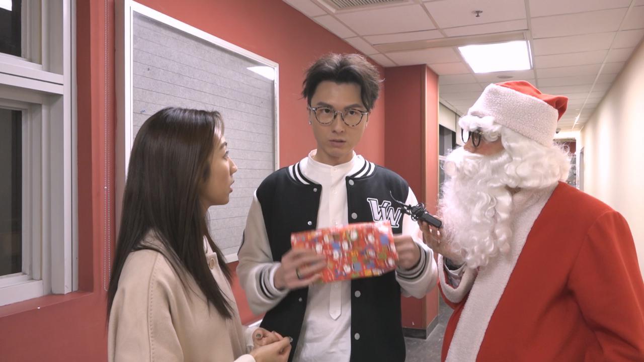 (國語)王浩信聖誕與家人聚餐 喜獲女兒送上手作禮物