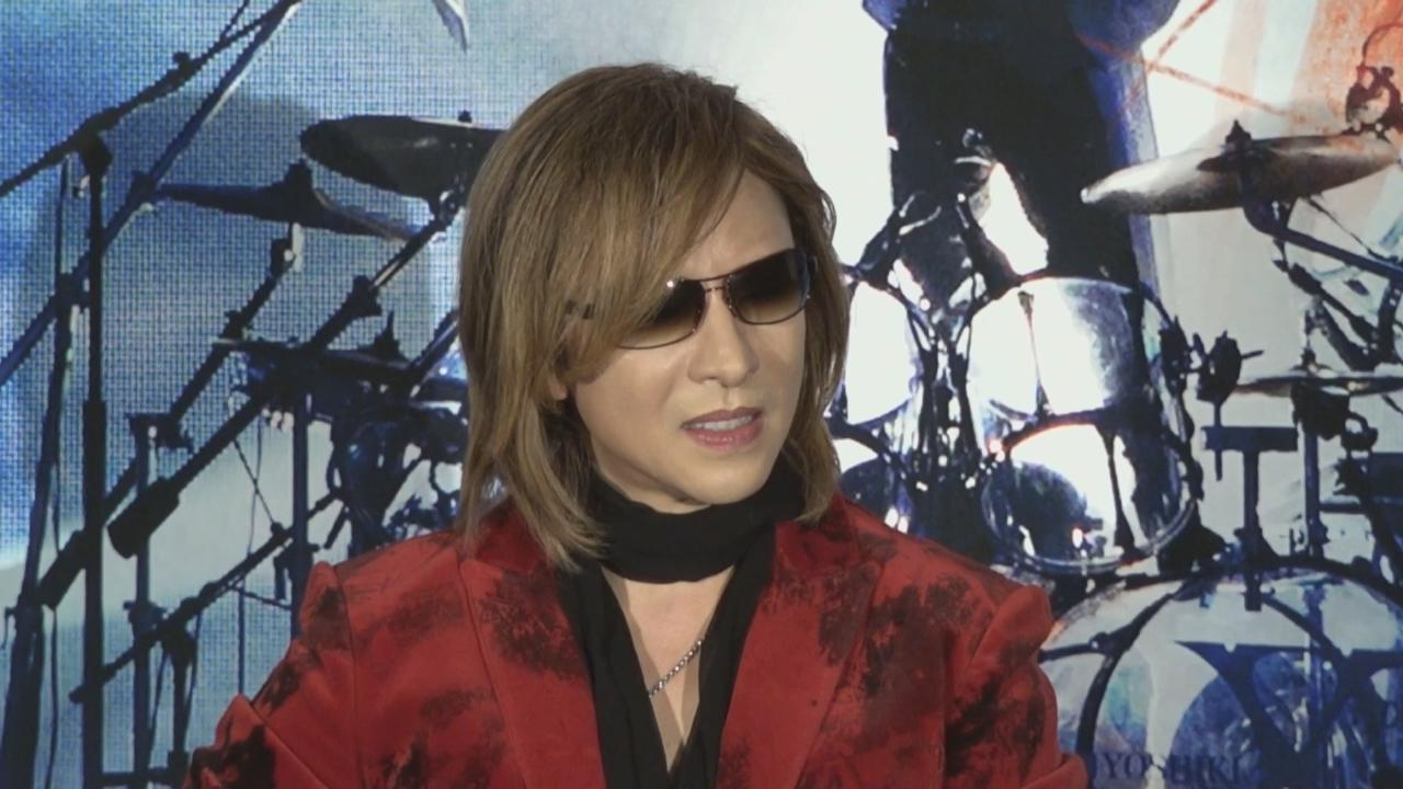 YOSHIKI不排除記錄片有續集 希望記下開心回憶