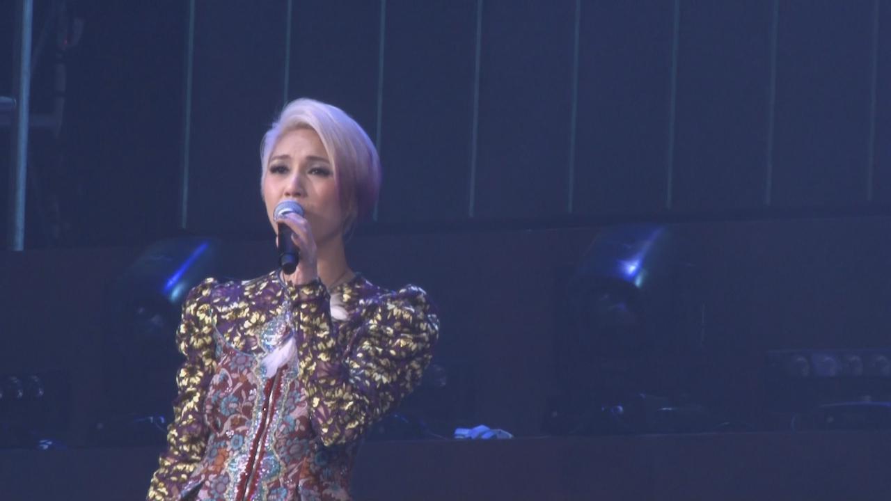 楊千嬅演唱會第五場 勁歌熱舞氣氛高漲