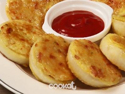 [食左飯未呀 Cookat] 洋蔥炒飯煎餅