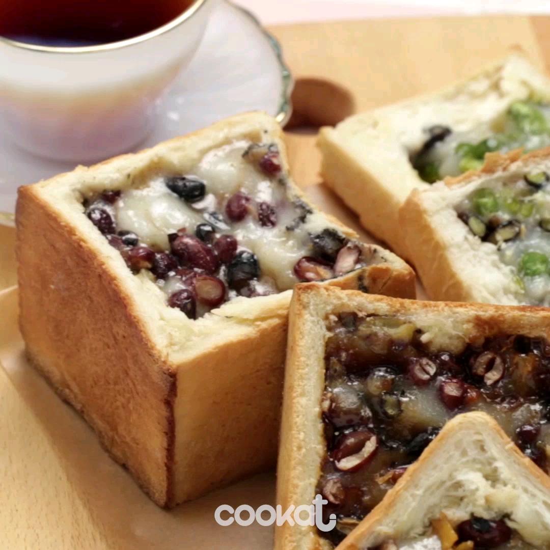 [食左飯未呀 Cookat] 麻糬麵包