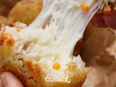 [食左飯未呀 Cookat] 芝士炒飯餅