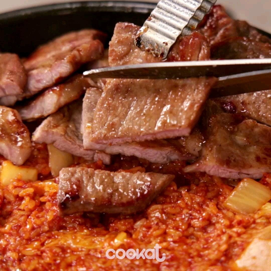 [食左飯未呀 Cookat] 豬肉配炒飯