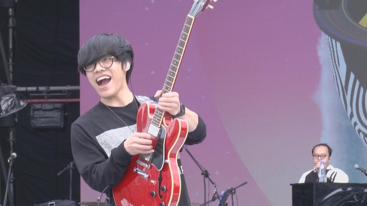 為台北跨年演唱會演出 盧廣仲丁噹等落力綵排