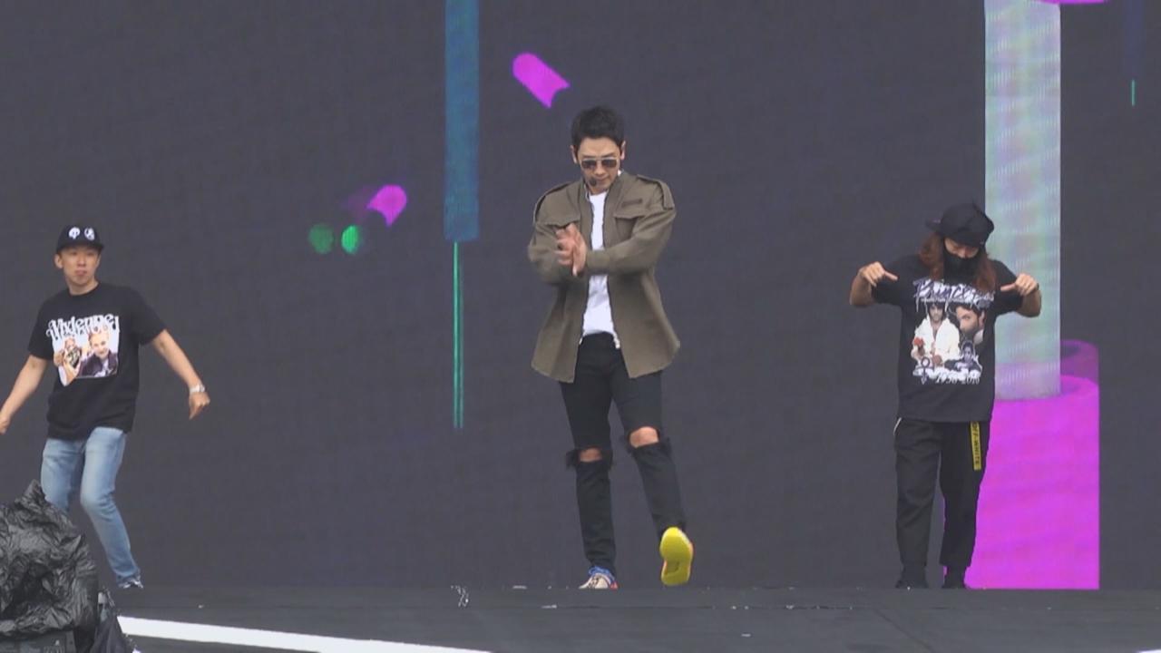 (國語)參與台灣跨年盛會感榮幸 Rain多謝當地粉絲愛戴