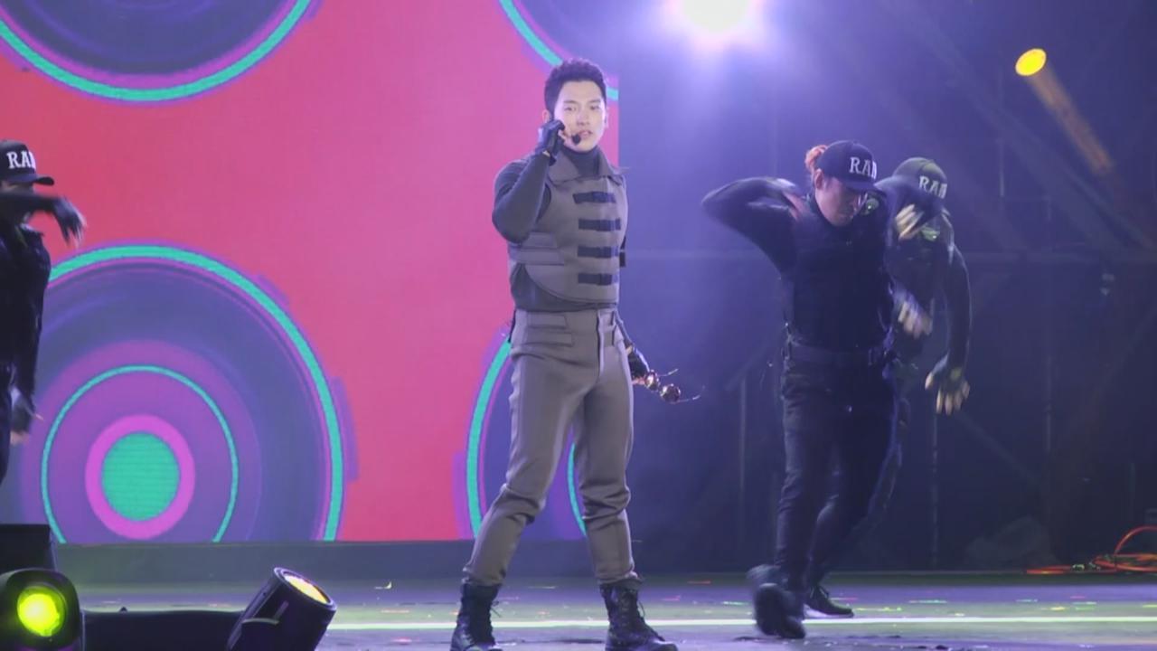 (國語)Rain出席台灣跨年晚會 勁歌熱舞掀全場高潮