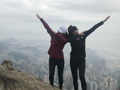 麥美恩 劉穎鏇2018 獅子山