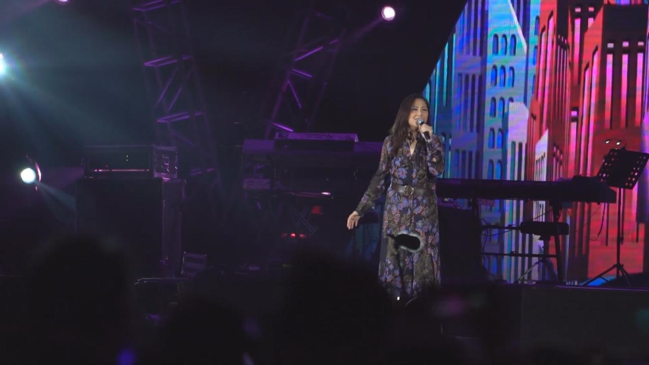 衛蘭廣東演出慶新年 獻唱經典歌曲