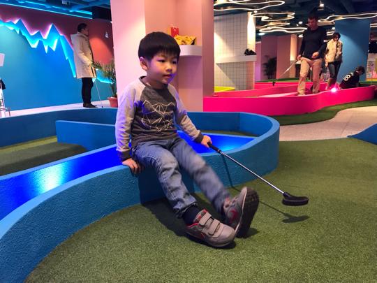 親子打Golf @ Strokes HK