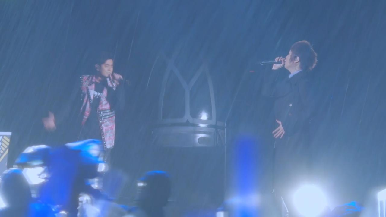 桃園演唱會圓滿結束 五月天周杰倫大雨中飈歌